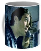 Leo Johnson Are You Telling Me There's No Santa Claus  Coffee Mug