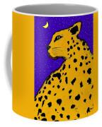Leopard At Midnight Coffee Mug