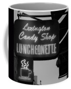 Lexington Candy Shop In Black And White Coffee Mug