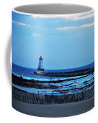 Lighthouse At Dusk Coffee Mug