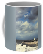 Lighthouse At Whitehaven Coffee Mug