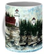 Lighthouse Cliff Coffee Mug
