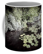 Lily Pads On Dark Water Coffee Mug
