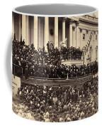Lincoln's Inauguration, 1865 Coffee Mug