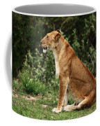 Lioness On The Masai Mara  Coffee Mug