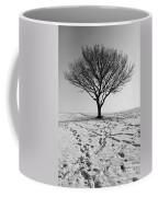 Lone Tree Winter Coffee Mug