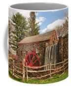Longfellow's Wayside Inn Grist Mill Coffee Mug by Jeff Folger