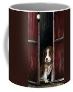 Looking Out Coffee Mug