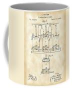 Louis Pasteur Beer Brewing Patent 1873 - Vintage Coffee Mug