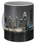 Night Lights Of Louisville Coffee Mug