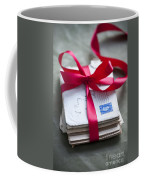 Love Letters Tied With Ribbon Coffee Mug