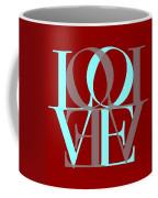 Love Typography Coffee Mug