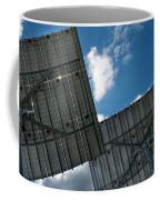 Low Angle View Of Solar Panels Coffee Mug