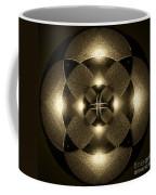 Luminous Mandala Coffee Mug