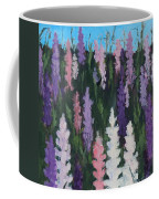 Lupines - Art By Bill Tomsa Coffee Mug