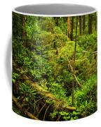 Lush Temperate Rainforest Coffee Mug