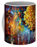 Magic Rain Coffee Mug by Leonid Afremov