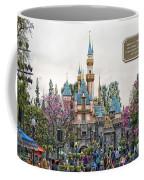 Main Street Sleeping Beauty Castle Disneyland 01 Coffee Mug