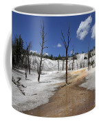 Mammoth Hot Spring Area Coffee Mug