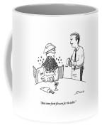 Man Ordering At A Restaurant Coffee Mug