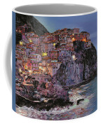 Manarola At Dusk Coffee Mug