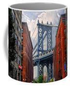 Manhattan Bridge View Coffee Mug