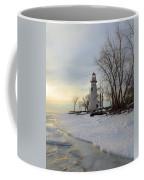 Marblehead Lighthouse Winter Sunrise Coffee Mug