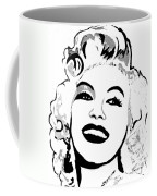 Marilyn What A Beautiful Girl Coffee Mug
