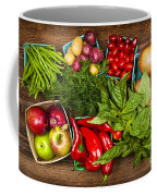 Market Fruits And Vegetables Coffee Mug by Elena Elisseeva