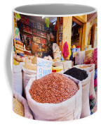 Market In Fes In Morocco Coffee Mug