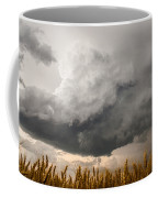 Marshmallow - Bubbling Storm Cloud Over Wheat In Kansas Coffee Mug