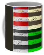 Max Woman In Quad Colors Coffee Mug