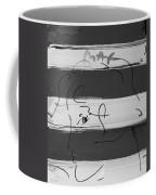 Max Women In Black And White Coffee Mug