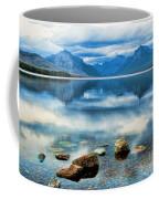 Mcdonald Lake Coffee Mug