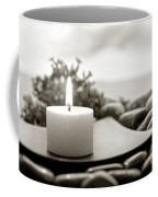 Meditation Candle Coffee Mug