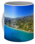 Mediterranean Sea From The Air Coffee Mug