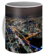 Melbourne At Night Vi Coffee Mug