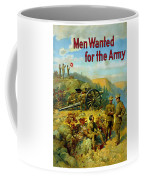 Men Wanted For The Army Coffee Mug