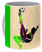 Womans Soccer Coffee Mug