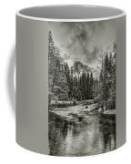 Ascending Clouds Toned Coffee Mug