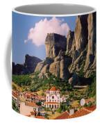 Meteora Greece Coffee Mug