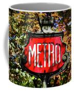Metro Sign, Paris, France Coffee Mug