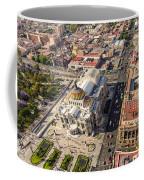 Mexico City Aerial View Coffee Mug