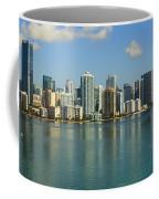 Miami Brickell Skyline Coffee Mug