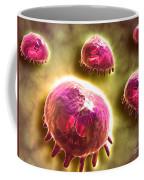 Microscopic View Of Phagocytic Coffee Mug