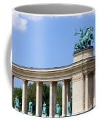 Millennium Monument In Budapest Coffee Mug
