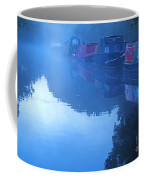 Misty Morning On The Grand Union Canal Coffee Mug