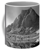109644-bw-mitchell Peak, Wind Rivers Coffee Mug