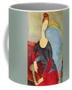 Mme Hebuterne In A Blue Chair Coffee Mug