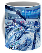 Modern Shopping Mall Interior Coffee Mug